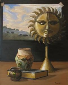 Studio Sunrise, Painting, Oil on Canvas