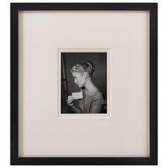 Grace Kelly Hair Test for Dial M for Murder