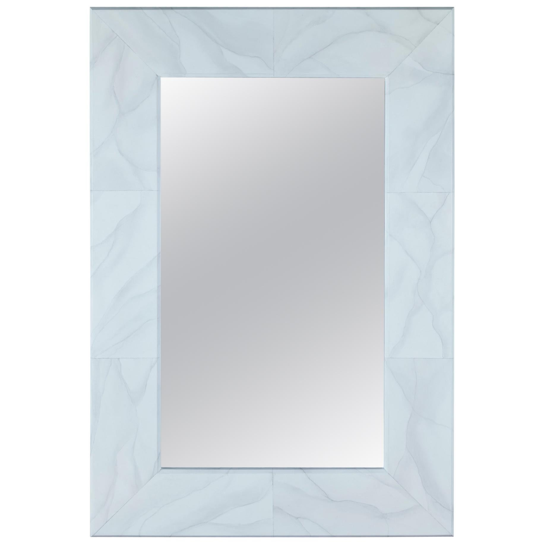 Gracie Mirror in Gray Glass by CuratedKravet