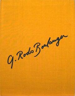 1973 Graciela Rodo Boulanger 'Rodo-Boulanger Gravures 1961-1972' Orange Book