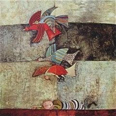 The Dream, Original Lithograph, Graciela Boulanger