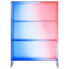 Gradient Bookcase / Cabinet 'HALO' by Buzao
