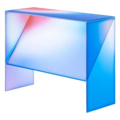 Gradient Color Console Table by Studio Buzao