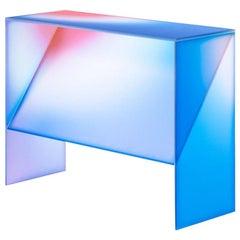Gradient Color Console Table by Studio Buzao
