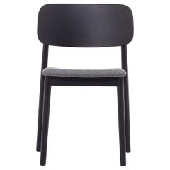 Grado Set of 2 Black and Gray Chairs by Mikko Laakkonen