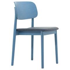 Grado Set of 4 Lightblue and Gray Chairs by Mikko Laakkonen
