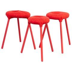 Graeme Findlay, Carmel McElroy 'Eskilstuna' Stool for Ikea PS Set/3