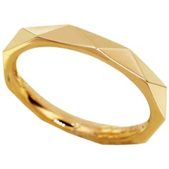 Graff 18 Karat Pink Gold Signature Wedding Band
