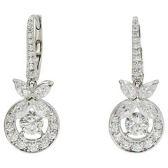 "Graff ""Butterfly"" Diamond Earrings"