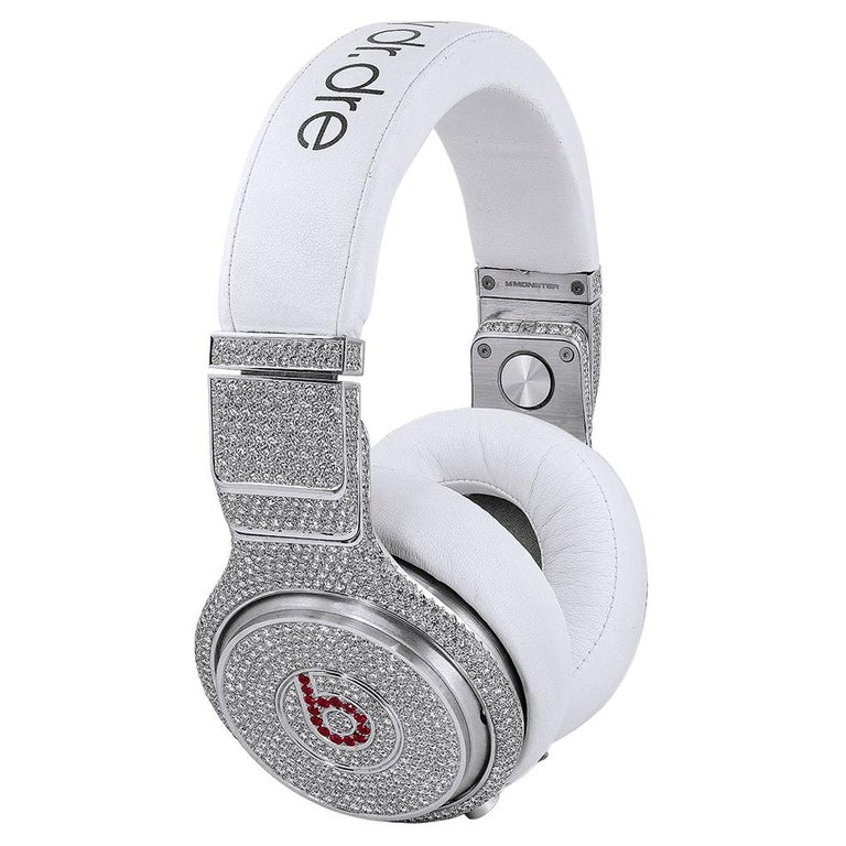 Graff Diamond and Ruby Headphones For Sale