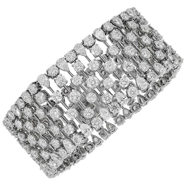 Graff Diamond Bracelet For Sale