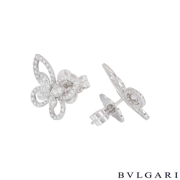 Women's Graff Diamond Butterfly Earrings For Sale