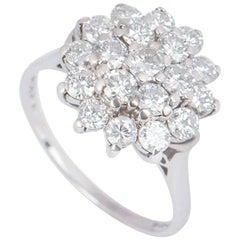 Graff Diamond Cluster Floral Ring