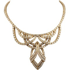 Graff Diamond Gold Necklace