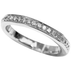 Graff Diamond Platinum Thread Set Eternity Ring