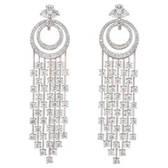 Graff Diamond Waterfall Chandelier Drop Earrings