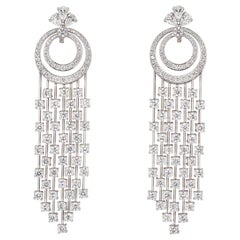 Graff Diamond Waterfall Drop Earrings