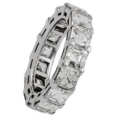 Graff Emerald-Cut Diamond Eternity Ring