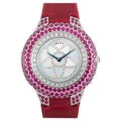 Graff Halo Ruby Watch GHWGRMP