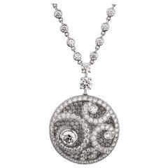 Graff Magnificent Diamond Pendant White Gold Necklace
