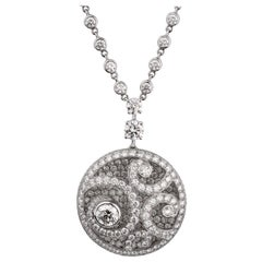 Graff Magnificent Diamond Pendant White Gold Necklace