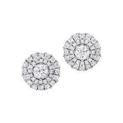 Graff Pair of Diamond Stud Earrings