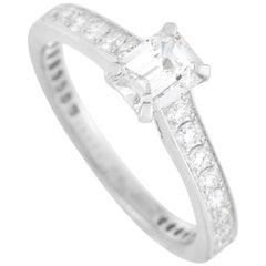 Graff Platinum 1.04 Carat Diamond Engagement Ring
