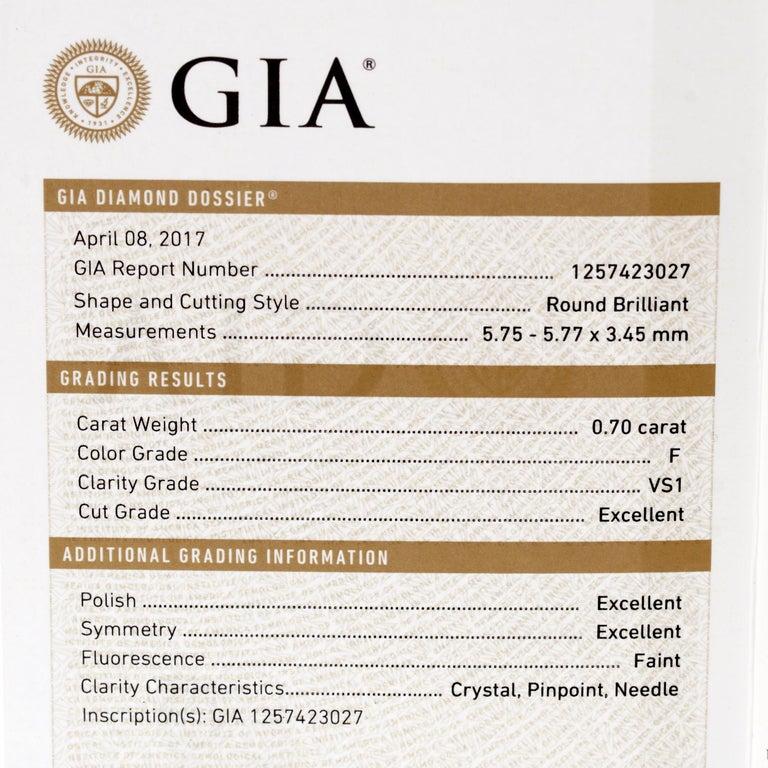 Mixed Cut Graff Snowflake 6.67ct Diamond White Gold Neckace For Sale
