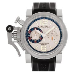 Graham Chronofighter 20VAS.S02A, Silver Dial, Certified