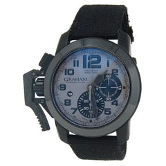 Graham Chronofighter 2CCAU.S01A, Grey Dial, Certified and Warranty