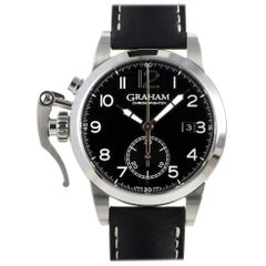 Graham Chronofighter 2CXAS.B01A.L17S, Millimeters Silver Dial