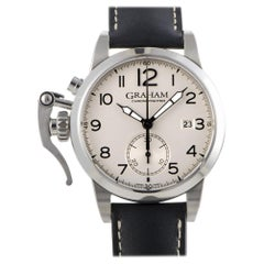 Graham Chronofighter 2CXAS.S01A.L17S, Millimeters Silver Dial