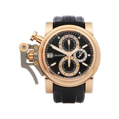 Graham Chronofighter Oversize Goldfinger 18 Karat Rose Gold 2OVCF.B08A.C83T