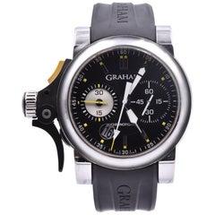 Graham Chronofighter Stainless Steel RAC Trigger Black Rush Watch Ref. 2TRAS