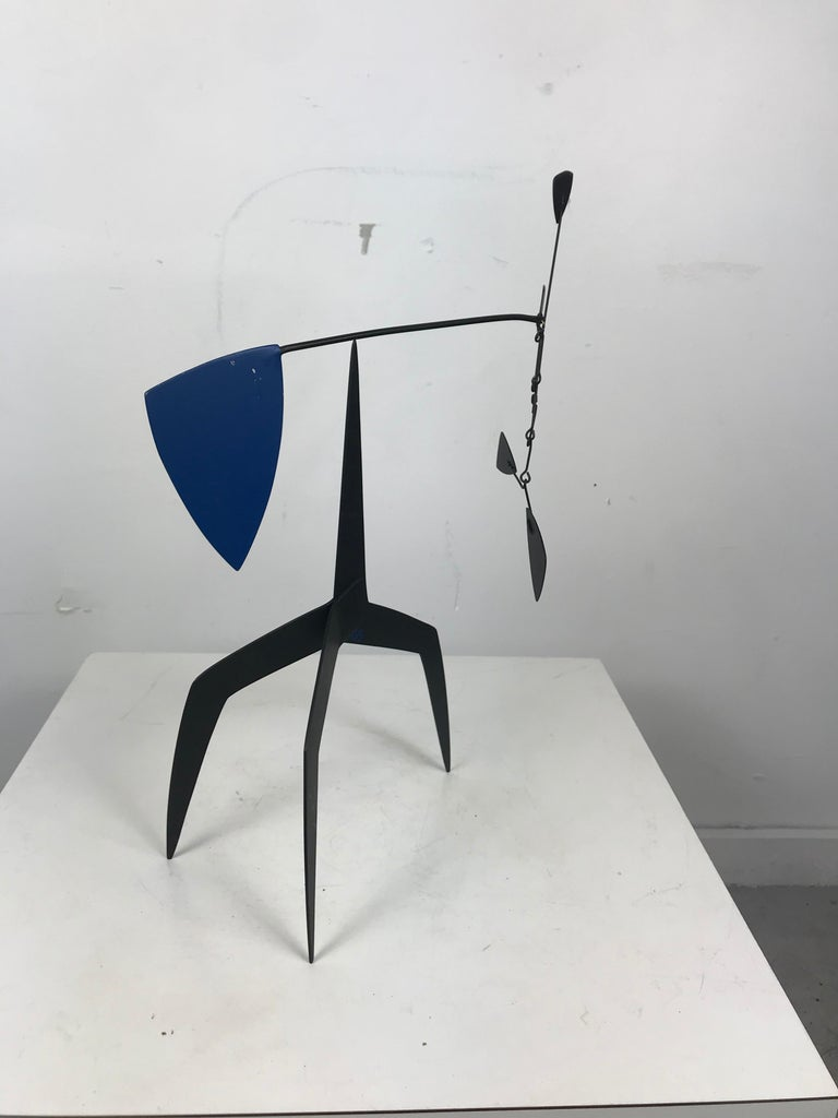 Mid-Century Modern Graham Mitchell Sears Geometric Kinetic Sculpture/ Stabiles, 20th Century