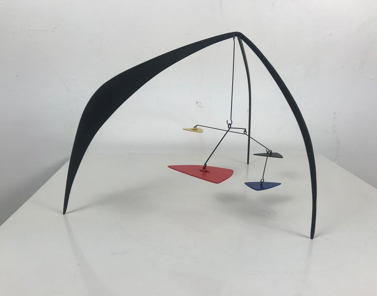 American Graham Mitchell Sears Geometric Kinetic Sculpture/ Stabiles, 20th Century For Sale