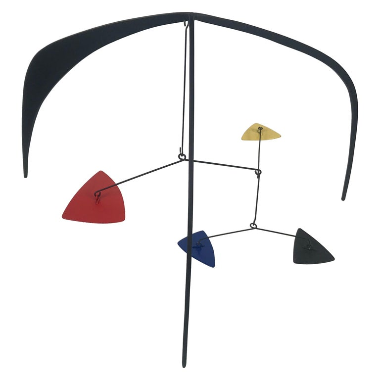 Graham Mitchell Sears Geometric Kinetic Sculpture/ Stabiles, 20th Century For Sale