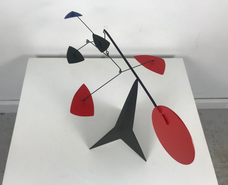 Mid-Century Modern Graham Mitchell Sears Geometric Kinetic Sculpture/ Stabiles, 20th Centuury For Sale