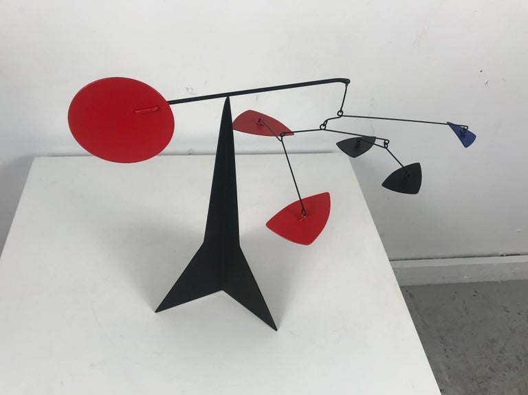 American Graham Mitchell Sears Geometric Kinetic Sculpture/ Stabiles, 20th Centuury For Sale