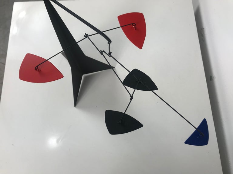 Contemporary Graham Mitchell Sears Geometric Kinetic Sculpture/ Stabiles, 20th Centuury For Sale