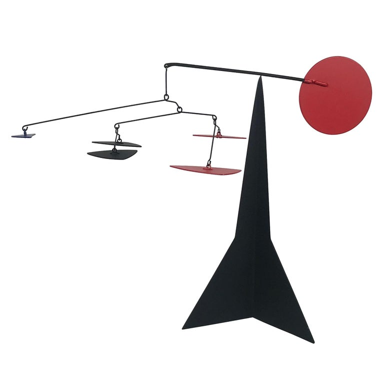Graham Mitchell Sears Geometric Kinetic Sculpture/ Stabiles, 20th Centuury For Sale