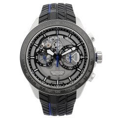 Graham Silverstone RS Skeleton Steel Grey Automatic Men's Watch 2STAC3.B01A.K91F