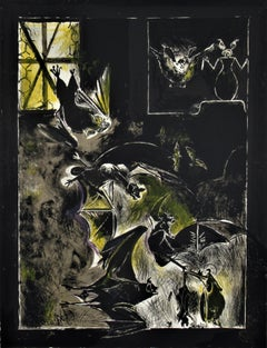 """Chauve-Souris""  from the suite ""Bestiary and some Correspondence"""