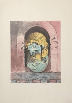 Composition - Original Lithograph by Graham Sutherland - 1979