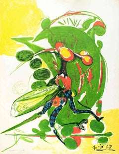 Insect - Original Lithograph by Graham Sutherland - 1963