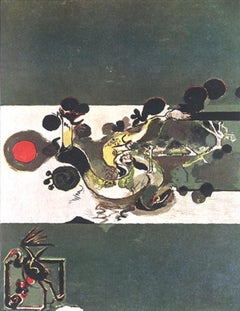 The River - Original Lithograph by Graham Sutherland - 1972