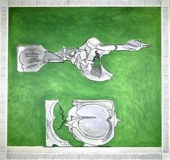 Untitled - Original Etching by Graham Sutherland - 1974