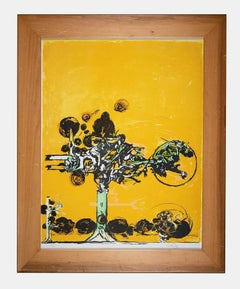 Untitled - Original Screen Print by Graham Sutherland - 1970s