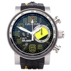 Graham Trackmaster 2BRYO.B05A.K66N Men Stainless Steel Braun GP Year One