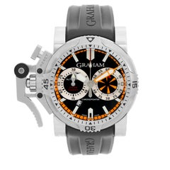 Graham Turbo Diver Chronograph Stainless Steel Men's Watch 2OVES.B15A